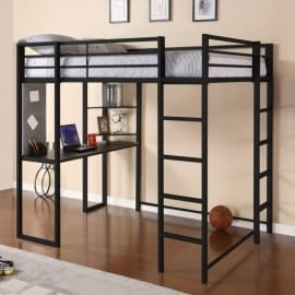 2 top choice loft bed with desk for teens based on customer reviews