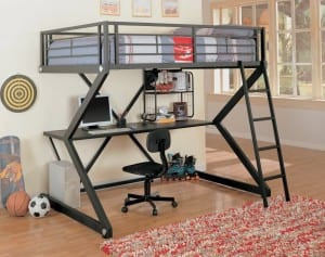 Adult Full Size Loft Bed With Desk That S Affordable Loftbeddeals Com